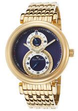 Lucien Piccard Polaris Dual Time Mens Watch 10618-YG-33