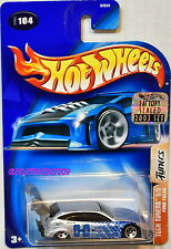 HOT WHEELS 2003 TECH TUNERS FORD FOCUS #104 SILVER FACTORY SEALED