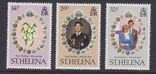 ST HELENA 1981 Royal Wedding MINT set sg378-380 MNH