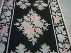 Lovely European style Kashmir needlepoint rug (  6ft. x 4ft. )