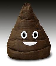 Adult Plush BROWN POO bean bag cover