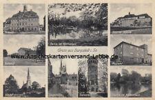 Burgstädt in Sachsen - Mittelsachsen - Bahnhof - 1940 nach Leipzig