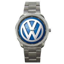 VW Volkswagen Rally WRC German Automobile Logo Sport Metal Watch For Gift