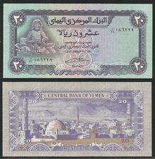 YEMEN ARAB REPUBLIC - 20 Rials 1985 Pick 19c UNC