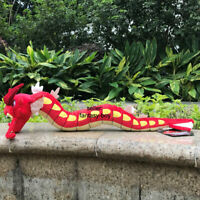 "High Quality Shiny Gyarados 23"" Plush Toy Red Dragon Stuffed Animal Cartoon Doll"