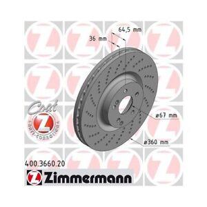 fits Mercedes Benz SET OEM Front Brake Discs W205 C63S AMG A0004212012