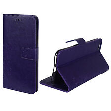 Cases Flowers for Mobile Phone Apple iPhone 6 Plus/6S Plus Purple Wallet Cover