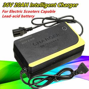 36V 1.8A 20AH Intelligent Chargeur Pour Électrique Scooter Capable Plomb Acide M