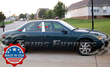 fit:1997-2001 Toyota Camry 6Pc Chrome Pillar Post Trim Stainless Door Cover