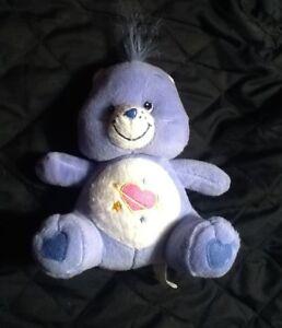 care bears Daydream 7 Inch Stuffed Plush Toy By Nanco Purple blue