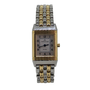 Jaeger Le Coultre Reverso Steel & Gold
