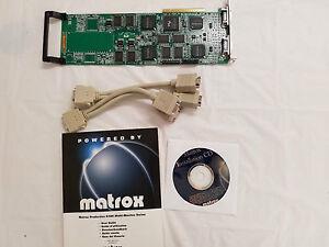 Matrox Quad G100 HP G+/QUADP/HP 8MB PCI Video Card NEW kit