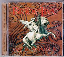 BRIDE - LIVE VOL 2 ACOUSTIC (CD, 2000, M8) Rare only 1500 made! Dale Thompson