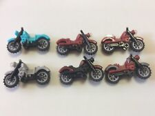 Lego motorcycle Lot of 6 Harley Davidson motorcycles minifig accessories J466B