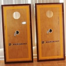 Washington Redskins Cornhole Boards W/Bags-Maple Wood-Regulation-Hand Crafted