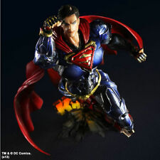 Square Enix DC Comics Variant Play Arts Kai Superman Figure Figurine with laser