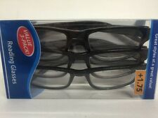 Lot of 3 Reading Glasses Kenneth  +1.75 New in Package