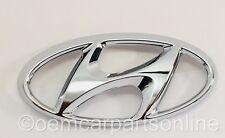 2012-2017 Front Grille Emblem Accent Sedan & Hatchback OEM Nameplate H Hyundai