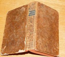 1785 LIVRE ancien VELLEIUS PATERCULUS histoire grecque et romaine HENAULT latin