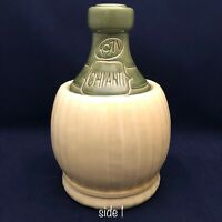 "1971 Chianti Wine Jug Cookie Jar Made in USA 11.5"" Tall"