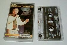 *RARE*ANDY WILLIAMS CHRUSTMAS ALBUM CASSETTE GERMANY 1994 LASERLIGHT