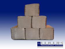 5000 Handtuchpapier Papierhandtücher Falthandtuch, 1 lagig natur zickzack