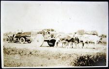 Mexico ~ 1810 Mexico ~ Oxen Pulled Wagon ~ 1910 Mexico ~ Automobile ~ Rppc