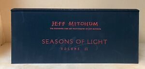 Seasons of Light By Jeff Mitchum Volume 2 Autographed Copy Landscapes Art Book