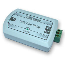 KMTronic USB One Channel Relay for MACH3 CNC software, BOX