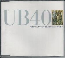UB40 - The way you do the things you do CDM 4TR Reggae-Pop 1989 WEST GERMANY