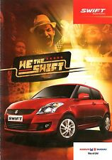 2013 SUZUKI SWIFT BROCHURE PROSPEKT CATALOG INDIA
