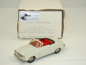 1955 Borgward Isabella Cabriolet van Tin Wizard 154 Germany