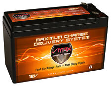 12V 10AH VMAX SLA Battery Replaces gp1272 np7-12 bp7-12 npw36-12 ps-1270 ub1280