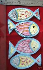 Appliques Sequin Patch Sew on Motif, Sequin Trim Badge Craft Applique Patch 1PC