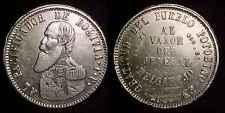 BOLIVIA 1865 FP Silver Melgarejo AU ***