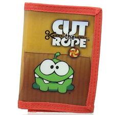 NEW OFFICIAL Cut the Rope Om Nom Boys Kids Coin Pocket Money Wallet