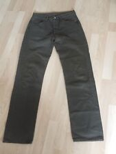 Levis 501 Jeans W30 L34 Hose Khaki getragen