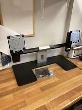 """Dell Dual Monitor Stand fits up to 24"""" Monitors MDS14A + VESA Plates"""