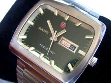 RARE JUMBO SIZE 42MM RADO NCC 101 AUTOMATIC DAY DATE - ORIGINAL CONDITION  *6551