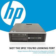 HP Elite 8200 SFF Desktop PC, i7 Quad Core 500GB HDD 8GB RAM SSD