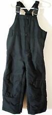 BABY GAP Warmest Black Bibs Snowpants Kids Toddler Boy's 2T