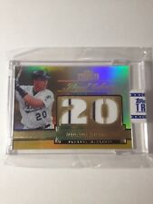 2012 Topps Tribute Debut Digits Relic 20 Miguel Cabrera Florida Marlins SSP 9/15