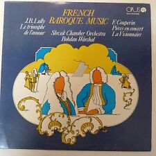 LP FRENCH BAROQUE MUSIC Slovak Chamber Orchestra Bohdan Warchal stereo 91100580