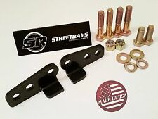 "StreetRays 02-16 HARLEY ULTRA / ELECTRA GLIDE ADJUSTABLE LOWERING KIT (1"" or 2"")"