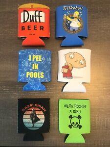 Simpsons Duff Beer Stewie Can Coozie Koozie