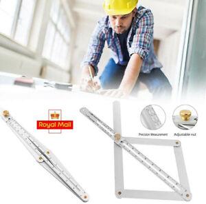 Corner Angle Finder Aluminium Alloy Metal Protractor Woodworking Measuring Tool