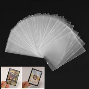 100pcs Card Sleeves Magic Board Game Three Kingdoms Poker Cards Protector