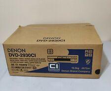 Denon DVD-2930CI Progressive Scan DVD/DVDA/SACD Player Denon DVD Player 2930CI