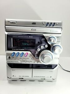 JVC CA-MXK5  System Compact Component Only Speakers Not Included No Remote MX-K5
