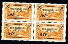 Lot z964 Levant France libre N°41** bloc de 4